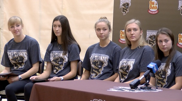 U of M Bisons Volleyball Recruits