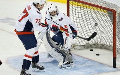 University of Manitoba Coach Serves as Backup Goalie for Washington Capitals