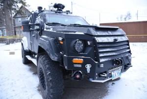 Winnipeg Police ARV Shot