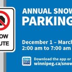 Winnipeg's Snow Route Parking Ban in Effect Tuesday