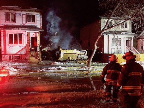 Manitoba Avenue Fire