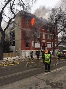 Maryland Street Fire