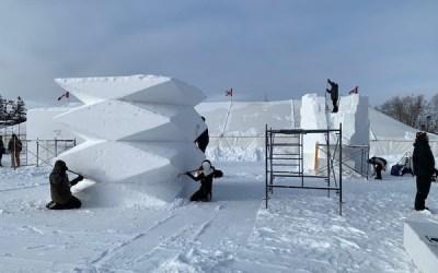 Festival du Voyageur Opens Applications for Snow-Sculpting Symposium