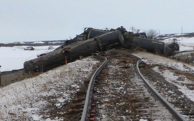 TSB Reduces Tally of Oil Spilled by CN Freight Train in Rural Manitoba