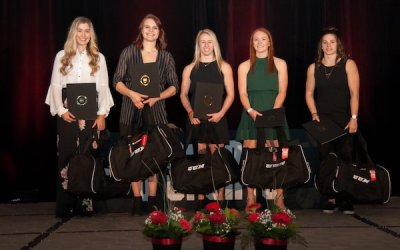 Bisons' Rieder Named 2018-19 First Team All-Canadian