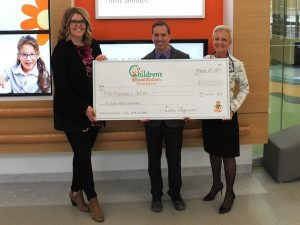 Kildonan Place Cheque Donation