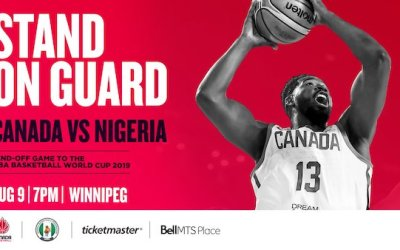 CONTEST: Win Tickets to Canada vs. Nigeria Men's Basketball