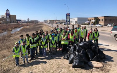 Omand's Creek Targeted for Earth Day Clean Up