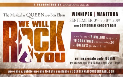 PRESALE: Queen's Hits in 'We Will Rock You' Musical Stopping in Winnipeg