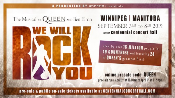 We Will Rock You Presale