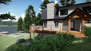 Black Sturgeon Lake Cottage