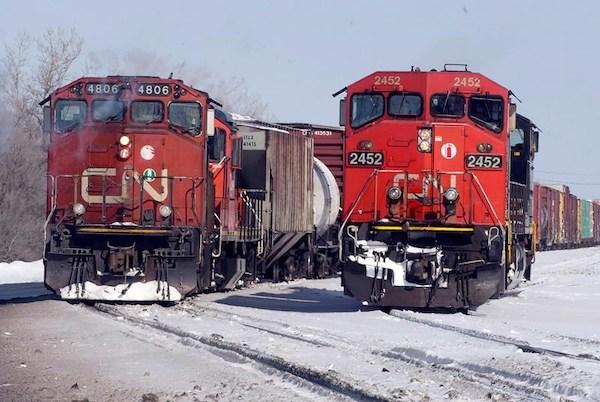 CN Locomotives