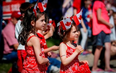 Canada Celebrates 152nd Birthday with Fireworks and Flybys