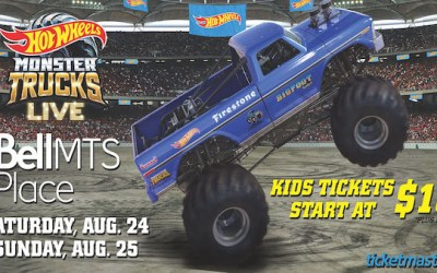 CONTEST: Win Tickets to Hot Wheels Monster Trucks Live