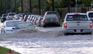 Winnipeg Flooded Street