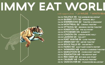 Jimmy Eat World to Play The Burt in May