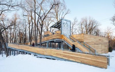 St. Vital Park Toboggan Slides, Shelter Win International Awards
