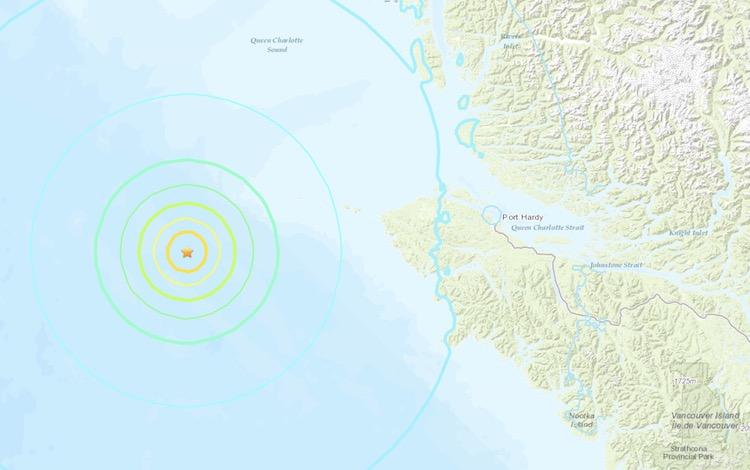 Port Hardy Earthquake