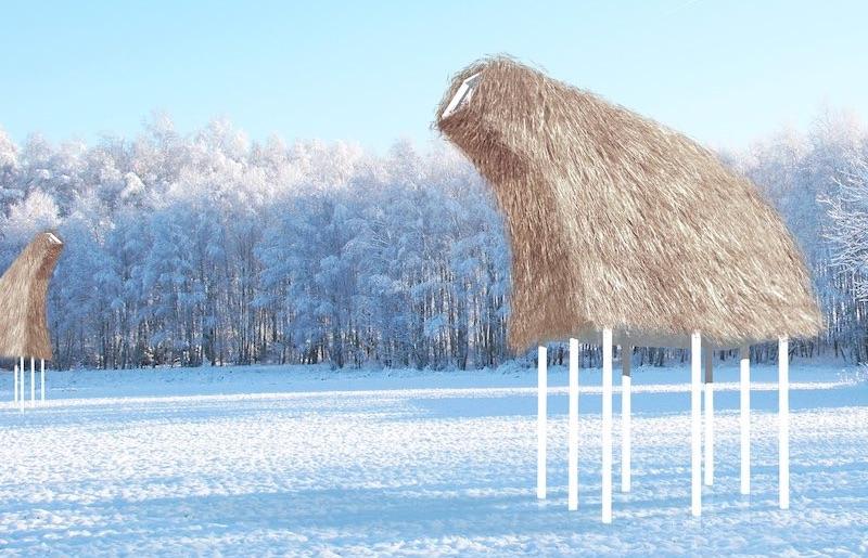 The Droombok Warming Hut