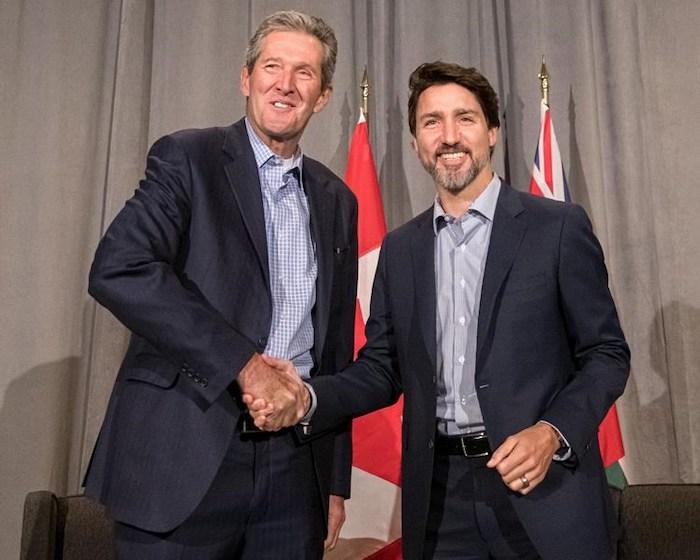 Brian Pallister - Justin Trudeau