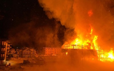 Fire Rips Through Transcona Condo Under Construction