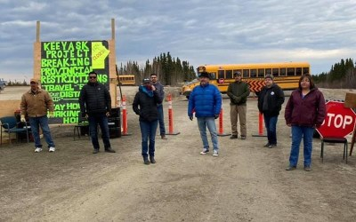 Indigenous Group to Continue Blockade Over COVID-19 Concerns in Northern Manitoba