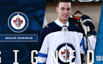 Jets Sign Declan Chisholm to Three-Year Deal