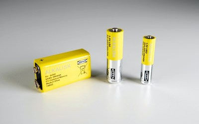 IKEA Canada Phasing Out Non-Rechargeable Alkaline Batteries