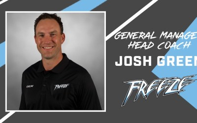 Winnipeg Freeze Name Josh Green First Head Coach, GM