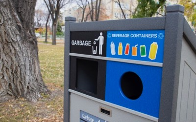 New Beverage Recycling Bins Pop Up in Six Winnipeg Parks