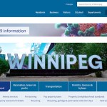 Winnipeg Redesigns Homepage, 311 Self-Service Websites