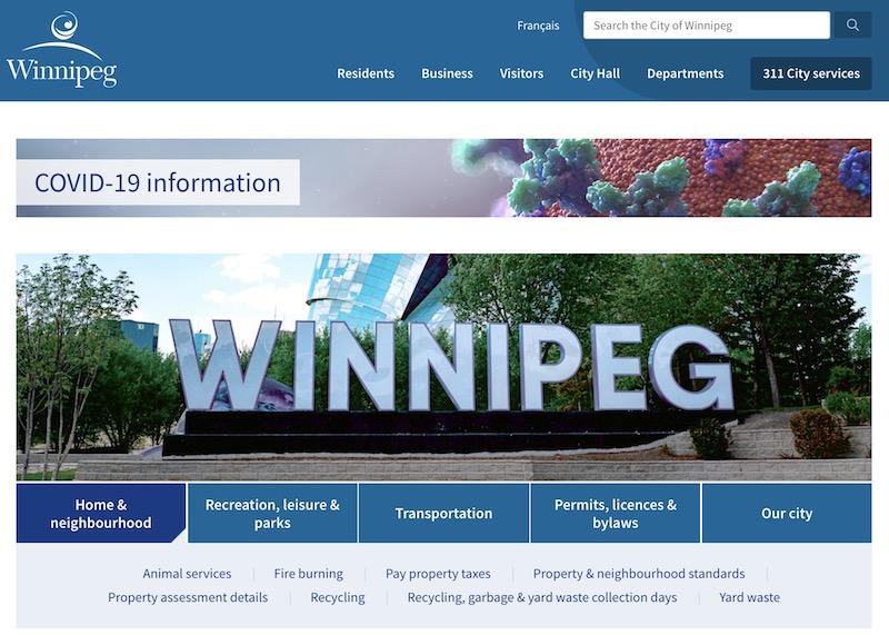Winnipeg.ca Redesign