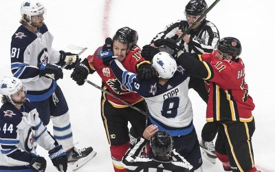 Winnipeg Jets, Calgary Flames Renew Hostilities to Start Their Seasons