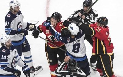 Winnipeg Jets, Calgary Flames Renew Hostilities to Start Their Seasons