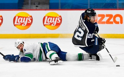 Wheeler, Connor Tally Three-Point Nights, Jets Down Canucks 5-2