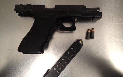 Loaded Handgun Seized During Brandon Traffic Stop