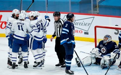 Maple Leafs Down Jets 3-1 to Extend Lead in North Division to Three Points