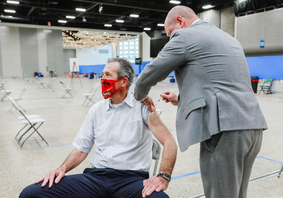 Brian Pallister Vaccine