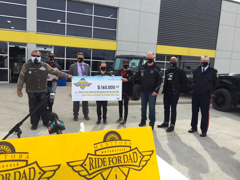 Manitoba Motorcycle Ride for Dad Launch