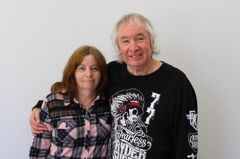 Sandra and David Allard
