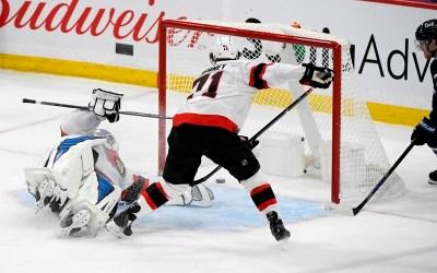 Dubois, Winnipeg Jets Outlast Pushy Ottawa Senators for 4-3 Victory