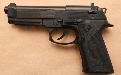 Man Wearing Body Armour Enters Police Headquarters with BB Gun, Knife