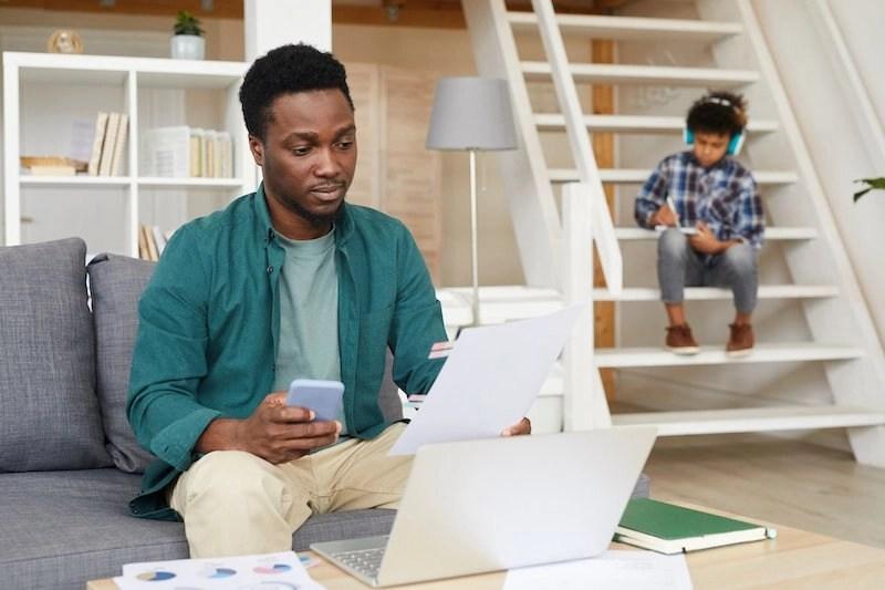 Man - Laptop - Working - Studying