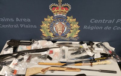 Four Arrested in Drugs, Weapons Bust in Portage la Prairie