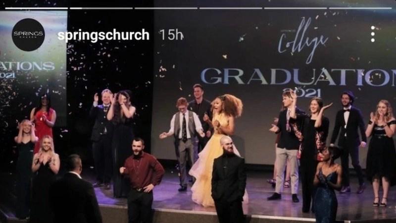 Springs Church Graduation