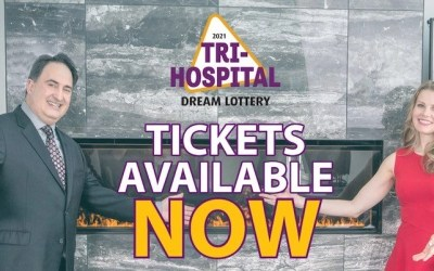 Tri-Hospital Dream Lottery Returns with Six Grand Prizes