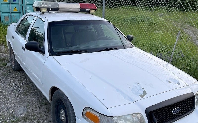 Old Police Vehicle