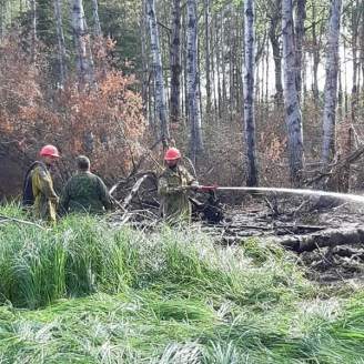 Manitoba Wildfire - Canadian Forces