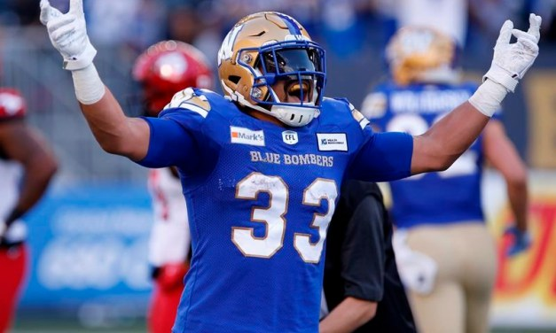 Harris, Blue Bombers Open Important Home-and-Home Series with Unbeaten Roughriders