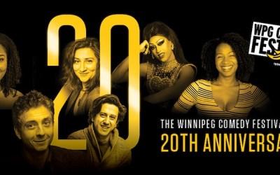 Winnipeg Comedy Festival Celebrating 20th Anniversary